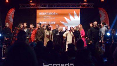 Nova himna Rijeke 'Moj grad' zaorila se večeras Korzom – Predstavljen program EPK 2020