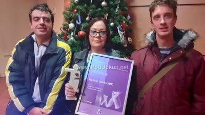Volonterka Izabela Lelek Purić iz Udruge osoba s invaliditetom Grada Opatije dobitnica je nagrade 'Volonteri godine' za 2019.
