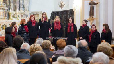 FOTO/VIDEO Božićnim koncertom Ženska klapa Kastav obilježila 25. obljetnicu uspješnog rada