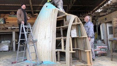 Lungomare Art Rijeke 2020 EPK – Krenula izrada trajne umjetničke instalacije Davora Sanvincentija koja će biti postavljena u Lovranskoj Dragi