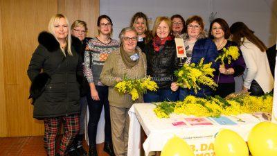 "Obilježen ""Dan mimoza"" – Dan borbe protiv raka vrata maternice"
