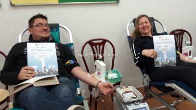 U OKU KAMERE 48 darivatelja odazvalo se prvoj ovogodišnjoj akciji darivanja krvi @ Lovran