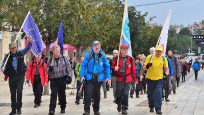 FOTO Slovenski planinari uspješno završili prvu hrvatsku dionicu 'E12'
