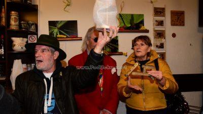 Otvorenje izložbe Jerka Gudca u caffe baru Barić