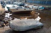 U OKU KAMERE Oseka ostavila barke u Dražici na suhom