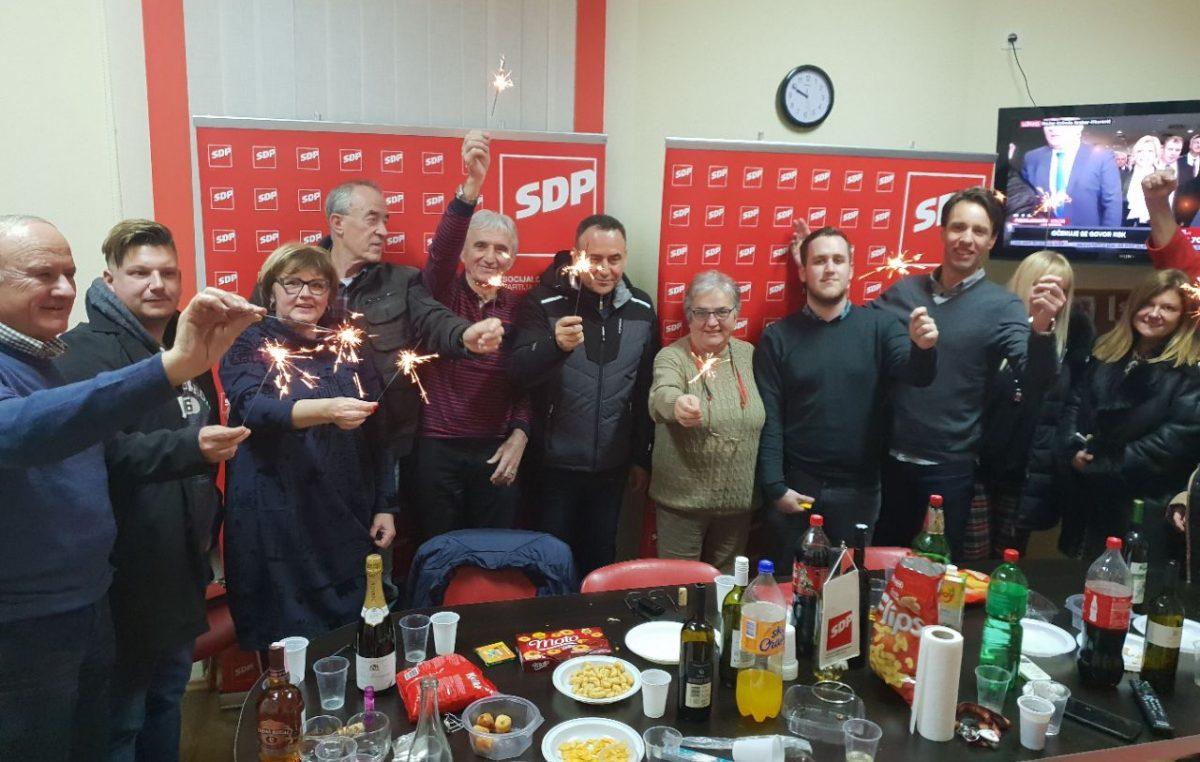 SDP slavi odličan rezultat Milanovića na Liburniji, Kirigin: 'Dobiti preko 75 posto glasova je velika stvar, ali i obaveza'
