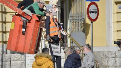 FOTO/VIDEO Kraj karnevala u Opatiji – Vraćeni su ključevi grada i prazna blagajna