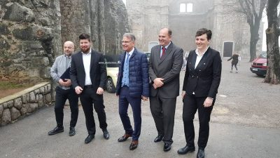 Ministar Cappelli posjetio 'grad na Brege': Kastav je i izvan Hrvatske prepoznat po kulturnom turizmu