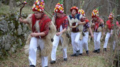 FOTO/VIDEO Brežanski zvončari održali svoj tradicionalni pohod