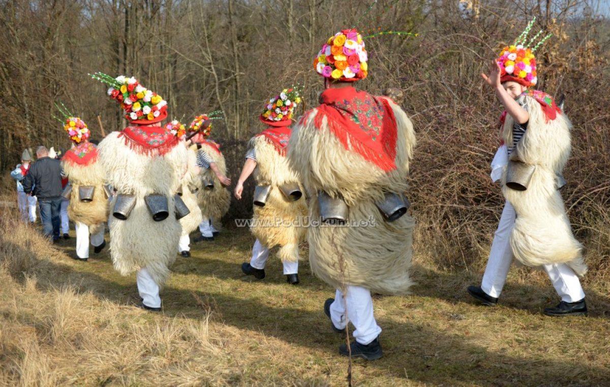 VIDEO/FOTO Mučićevi zvončari storili pohod na Brgud