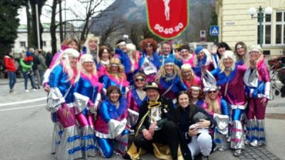 """Članice opatijske maškarane grupe """"Opatijke 90-60-90"""" sudjelovale na karnevalu u Bad Ischlu"""