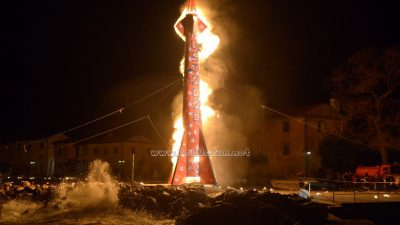 Okončano je karnevalsko doba – Spektakularno paljenje rakete ponovo oduševilo @ Mošćenička Draga
