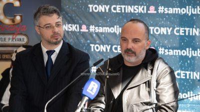 FOTO/VIDEO Tony Cetinski predstavio školu pjevanja u Opatiji