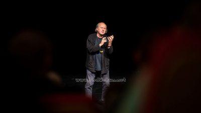 FOTO Zijah Sokolović predstavio novu monodramu 'Lijevo desno glumac' pred opatijskom publikom