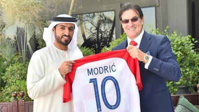 Dopredsjednik HNS-a i predsjednik Rijeke Damir Mišković u radnom posjetu UAE