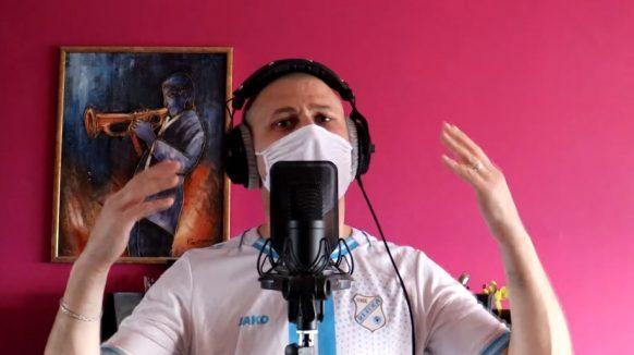 VIDEO Gane Rimatore iz kućne radinosti javio se s novom porcijom rima, virus o kojem repa nije korona!