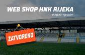 Webshop HNK Rijeka privremeno zatvoren