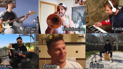 VIDEO 'Playing for change po domaću style' – 'Korona z domaće estrade' u izvedbi Koktelsa na šest različitih lokacija