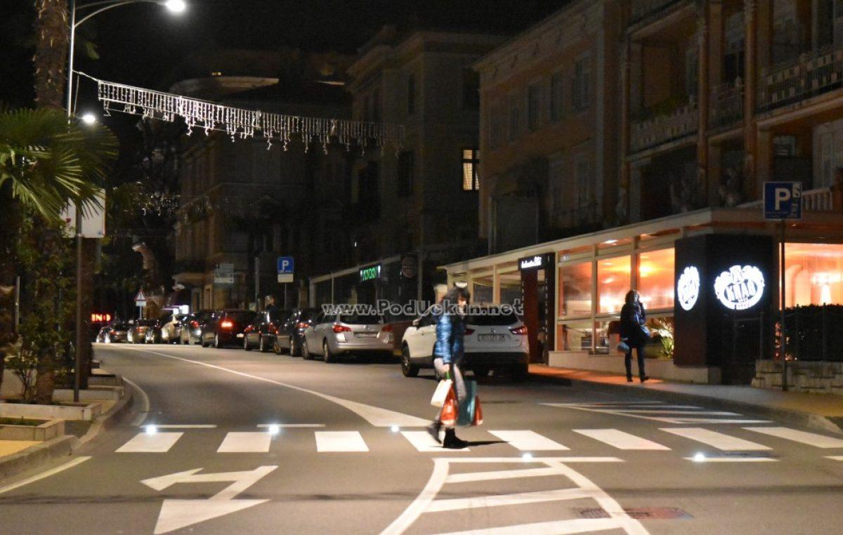 Prazne ulice, šetališta, kafići – Zbog koronavirusa život 'na pauzi' @ Kastav, Opatija