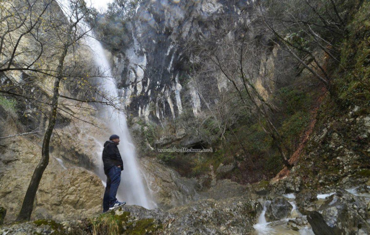 VIDEO Moć prirode – Sjajni kadrovi slapa u Lovranskoj Dragi