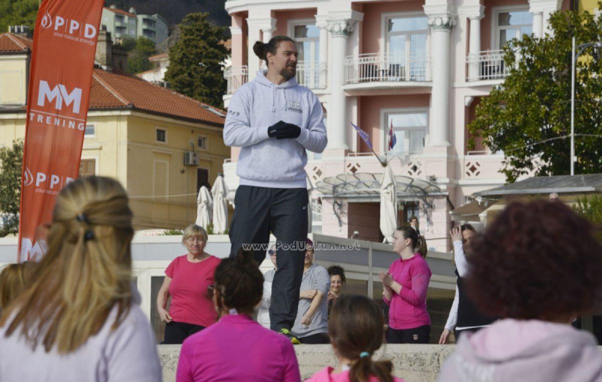 Mario Mlinarić trening u Opatiji