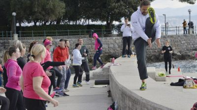 FOTO/VIDEO Brojne Opatijke vježbale s Mariom Mlinarićem