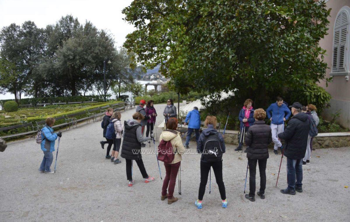 Turistička zajednica grada Opatije organizira aktivne šetnje svake subote do prosinca