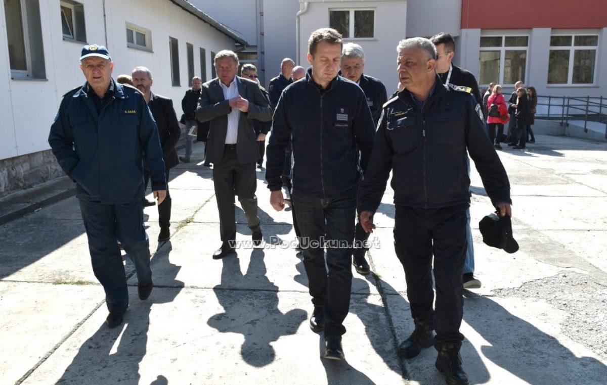 Završeni radovi na upravnoj zgradi Centra za obuku interventnih službi PGŽ Šapjane vrijedni 3 milijuna kuna