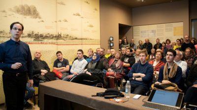 FOTO Tomislav Portada održao predavanje 'Slučajna otkrića u kemiji' @ Volosko