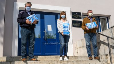 Stožer Civilne zaštite Grada Opatije donirao zaštitne maske Crvenom križu, policiji, vatrogascima i susjednim općinama