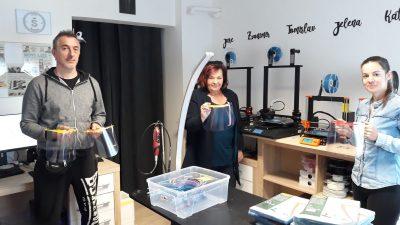 Viškovo doniralo obrtu 3Design Šanell sirovinu za proizvodnju vizira i okvira za medicinsko osoblje
