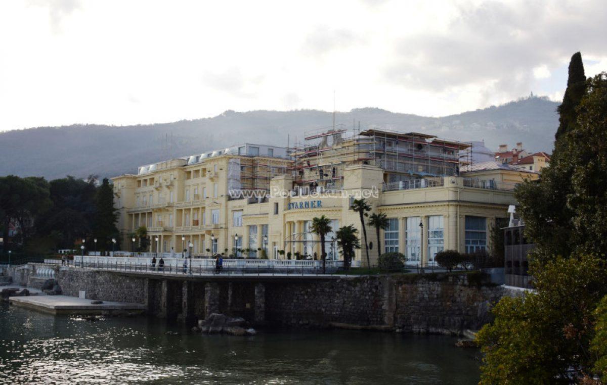FOTO Hotel Kvarner pod renovacijom: Graditeljska raskoš ponovo će biti istaknuta kako i priliči ovom slavnom zdanju