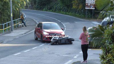 Zbog teže prometne nezgode promet Tošinskom ulicom odvija se otežano