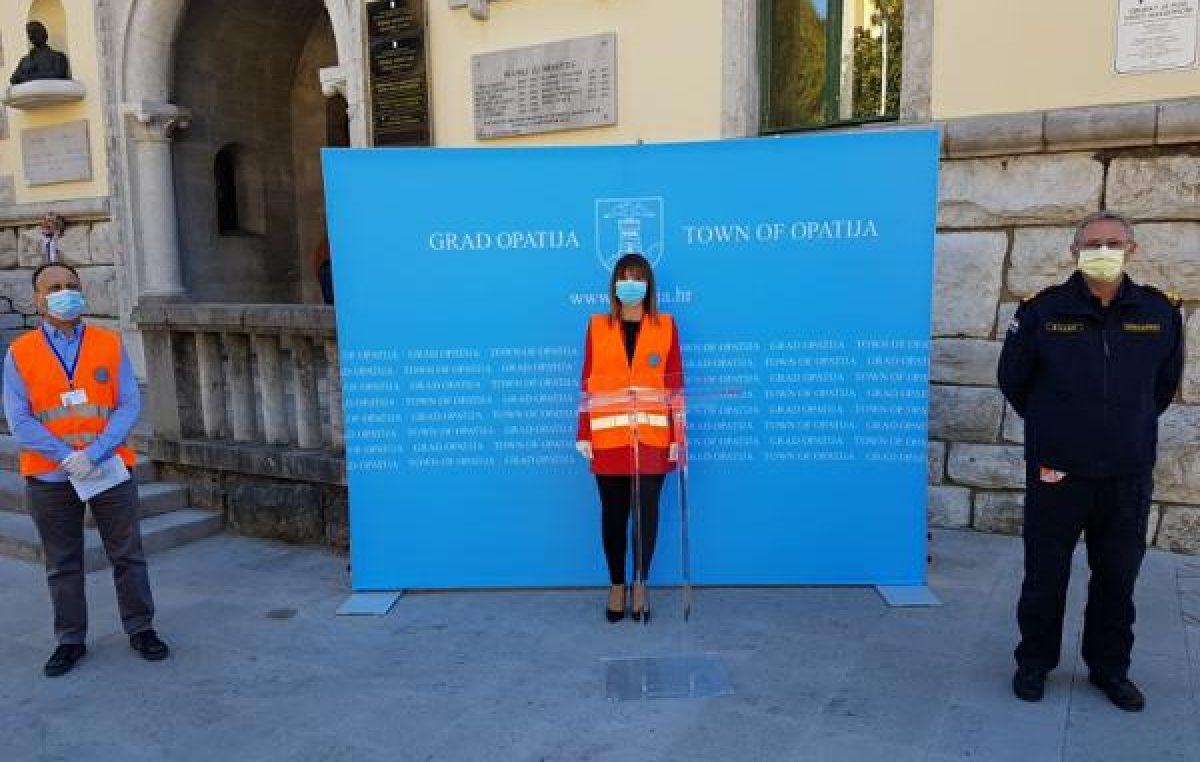 Epidemiološka situacija u Gradu Opatiji je pod kontrolom, za vikend izbjegnite okupljanje
