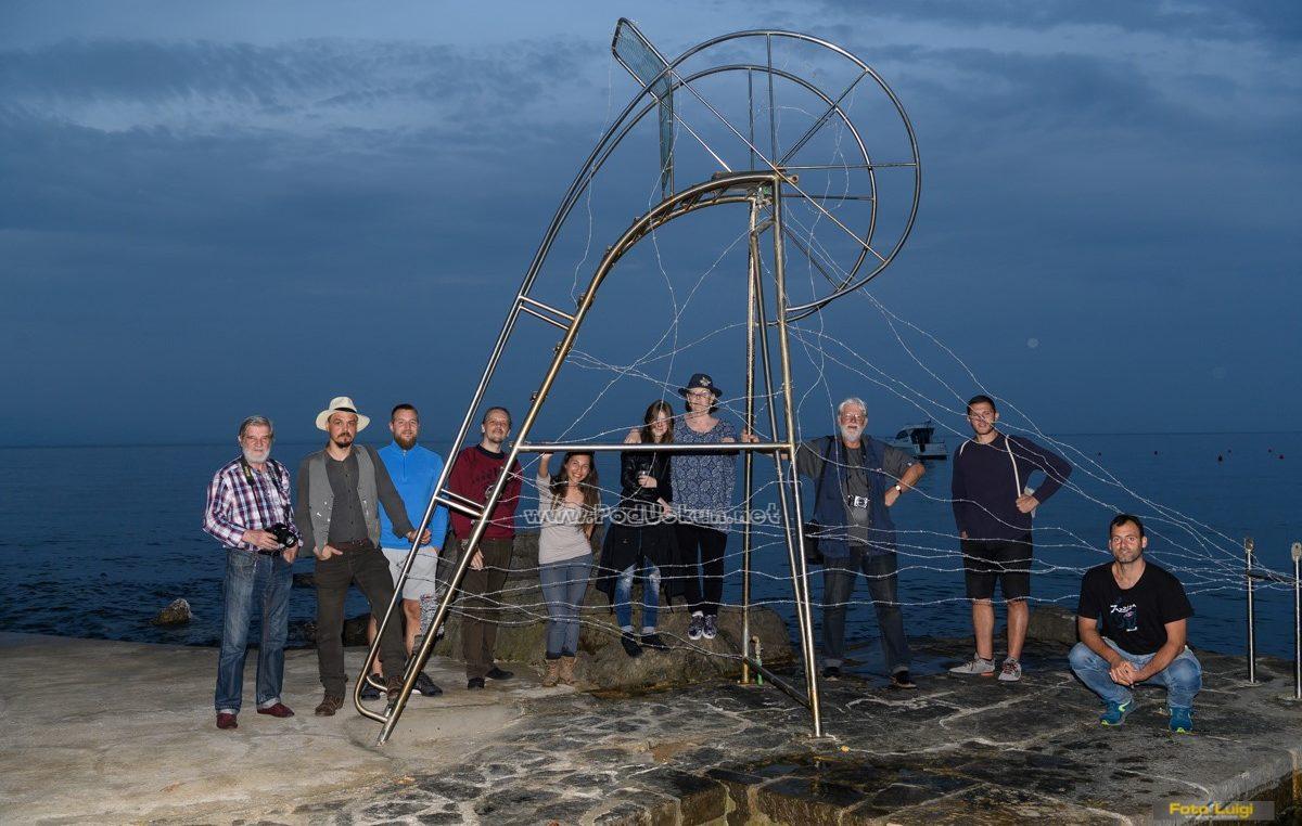 FOTO Na plaži Tomaševac otvorena izložba 'Čuvari plaže 2020'