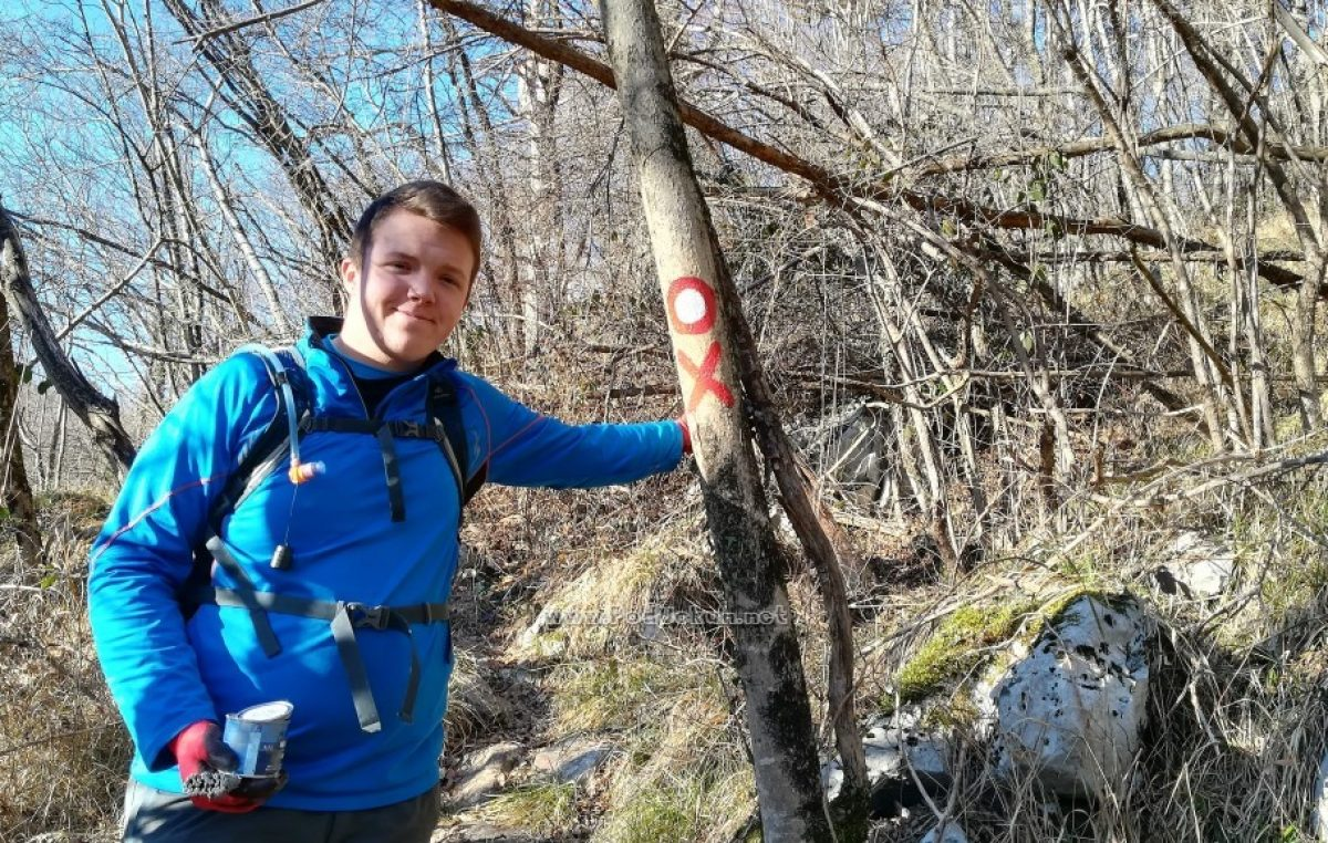 Akcija čišćenja i markiranja – Nastavljeno održavanje planinarske obilaznice Lisinski put