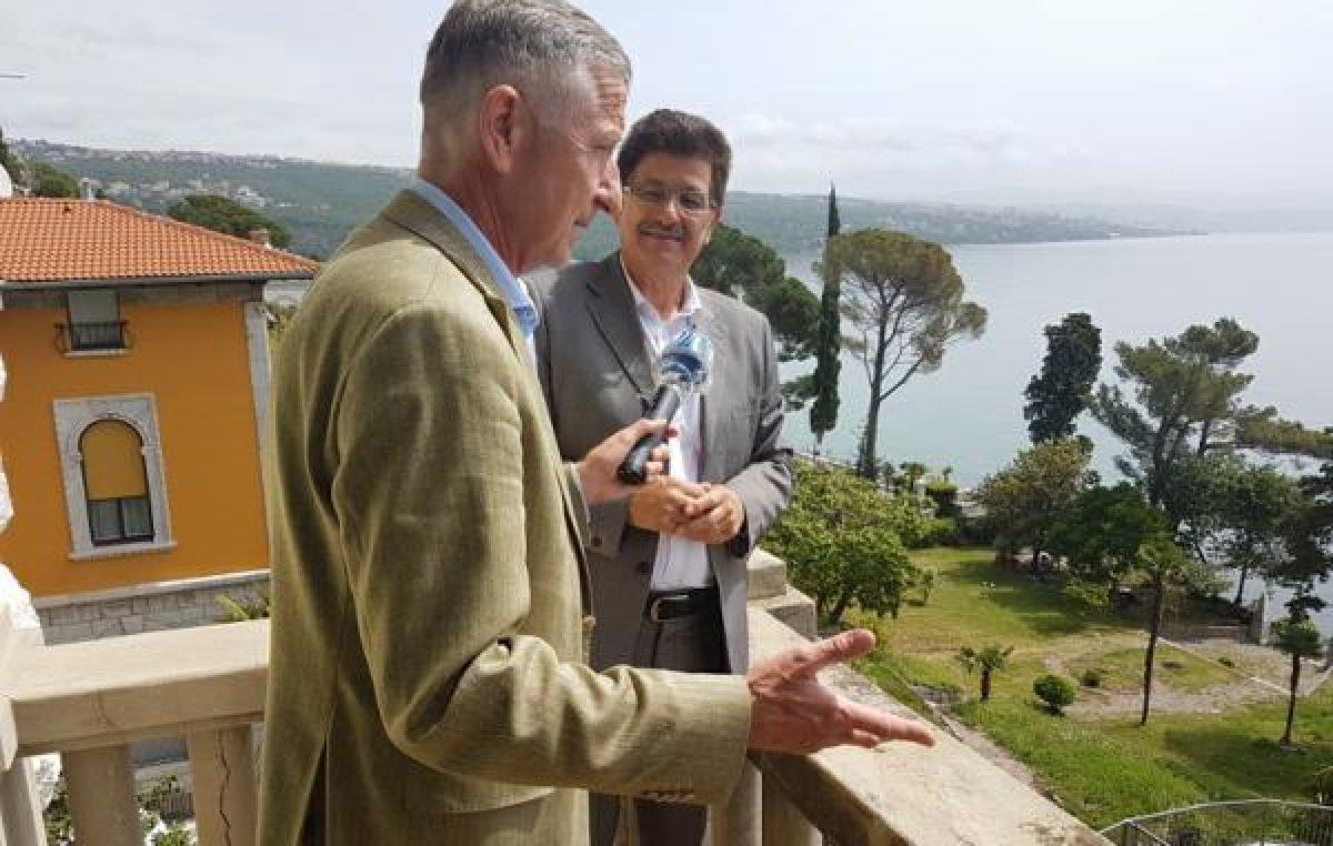 Dujmić o šansama opatijskog turizma u 2020. za njemački nacionalni radio ARD