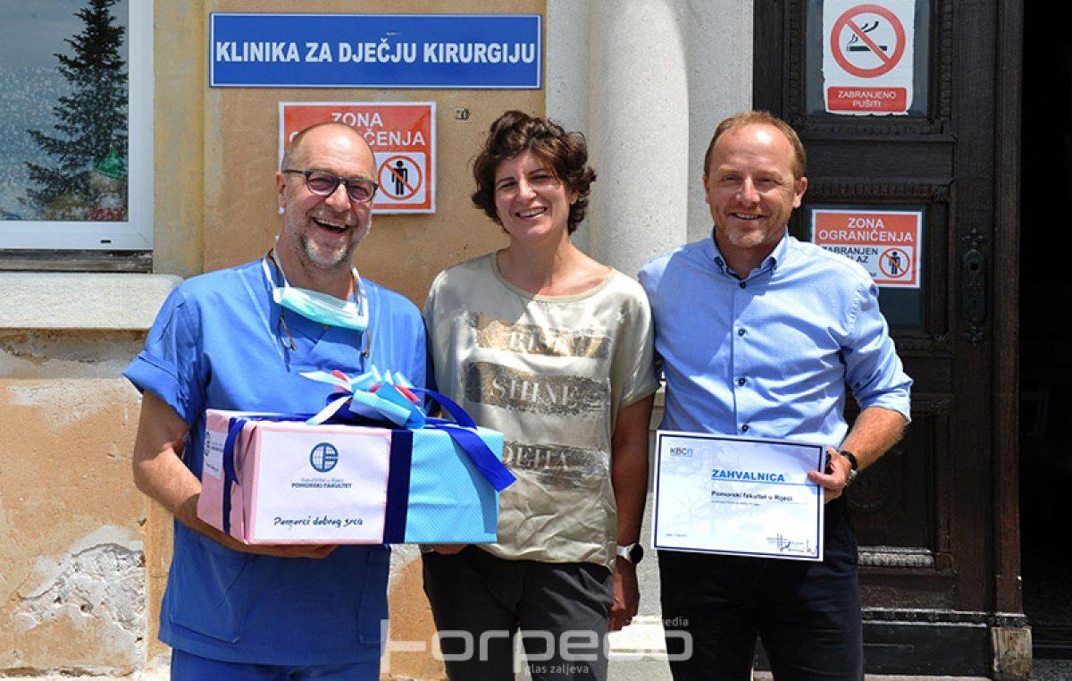 Pomorci dobrog srca Klinici za dječju kirurgiju riječkog KBC-a donirali vrijednu opremu