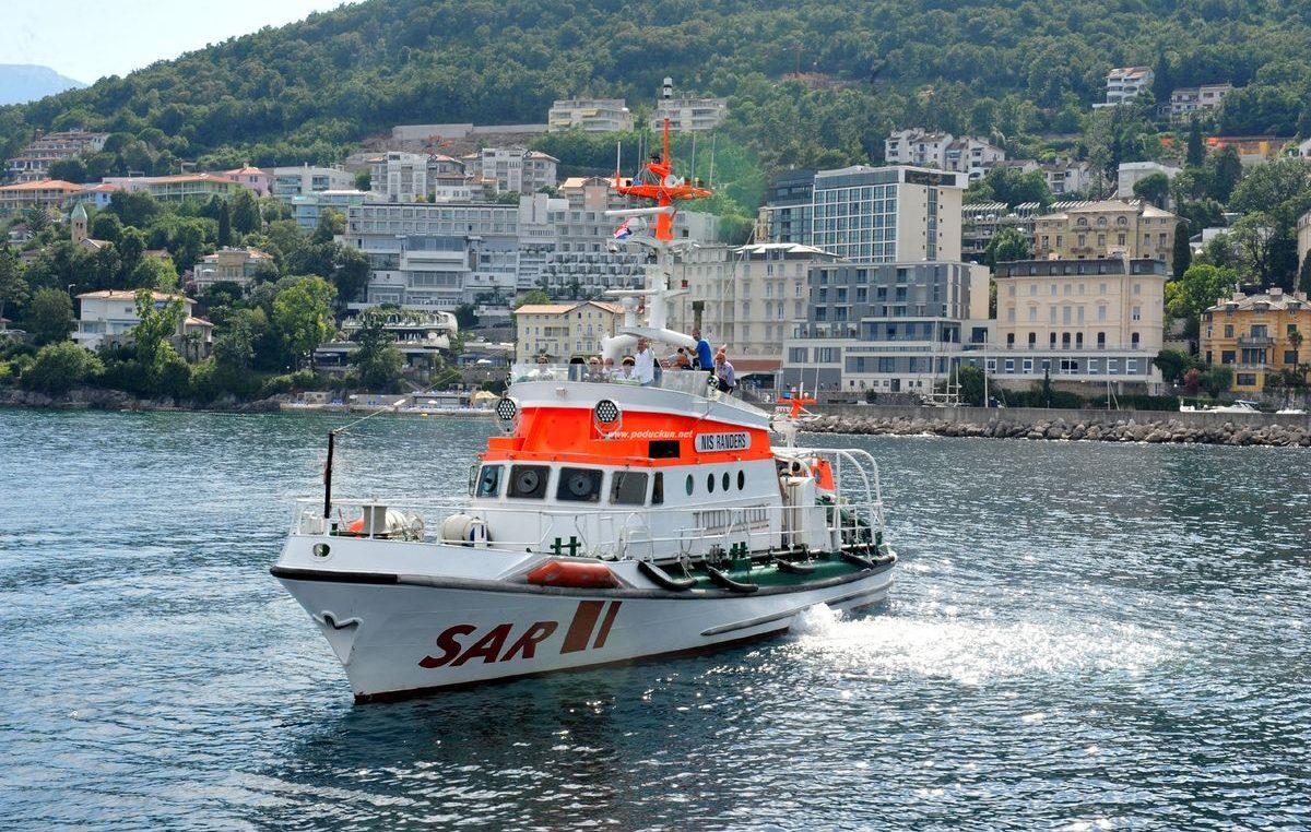 FOTO Predstavljen brod za traganje i spašavanje Nis Randers u Marini Admiral