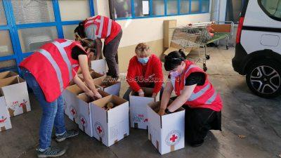Vaš dar za pravu stvar – Crveni križ pomaže paketima hrane građanima koji su ostali bez posla zbog krize izazvane pandemijom koronavirusa