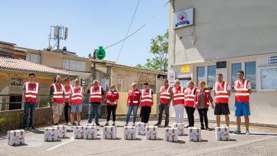 FOTO Vaš dar za pravu stvar – Crveni križ pomaže paketima hrane građanima koji su ostali bez posla zbog pandemije