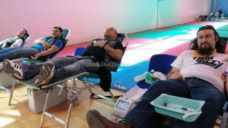 FOTO Održana 2. ovogodišnja opatijska Akcija Dobrovoljnog darivanja krvi u Opatiji