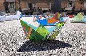 FOTO Papirnati brodići 'zaplovili' riječkim trgom u počast Fiumanki