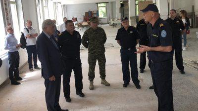 U Centru za obuku interventnih službi PGŽ započela izgradnja novih poligona @ Šapjane