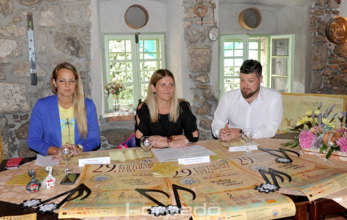 Najavljeno 29. Kastafsko kulturno leto: 'Kultura unatoč svemu' i naglasak na domaće snage
