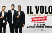 Koncert grupe Il Volo održava se večeras; u slučaju kiše odgađa se za sutra, 5. srpnja