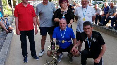 Održan tradicionalni boćarski turnir trojki Letnja Ivanja – Ekipa 'Oštarija' osvojila turnir