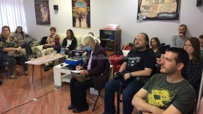 FOTO Sjajnim predavanjem Anite Barišić nastavljen projekt Opatija Coffeehouse Debates