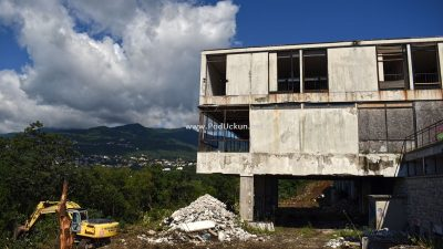 FOTO Počelo uređenje ex motela Panorama koji će postati centar edukacije i inovacije