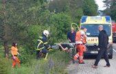 Ozlijeđene tri osobe: Zbog prometne nesreće na ulasku u Mune vozi se otežano